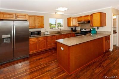 Waianae Single Family Home In Escrow Showing: 85-847 Lihue Street
