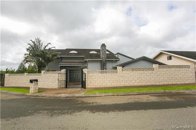 Mililani Single Family Home For Sale: 95-796 Lanipaa Street