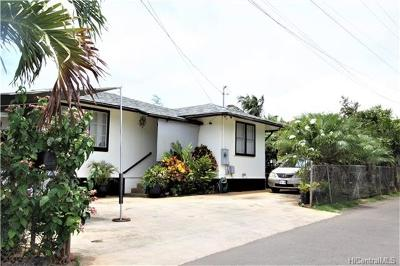 Honolulu Single Family Home For Sale: 1822 Beckley Street #H