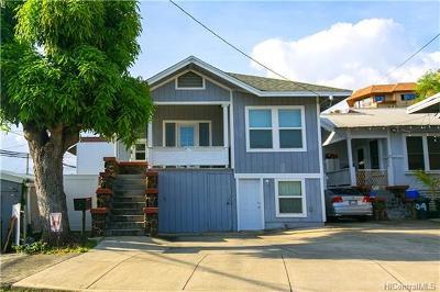 Honolulu Single Family Home In Escrow Showing: 202 Huali Street