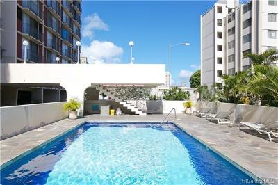 Honolulu Condo/Townhouse For Sale: 1650 Kanunu Street #214