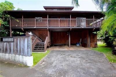 Haleiwa Single Family Home For Sale: 58-022 Kapuai Place