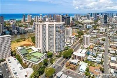Honolulu Condo/Townhouse For Sale: 2333 Kapiolani Boulevard #1008