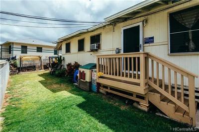 Single Family Home For Sale: 3318 Hinano Street #B