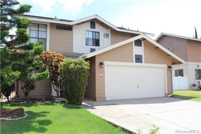 Waipahu Single Family Home In Escrow Showing: 94-511 Meaaina Place