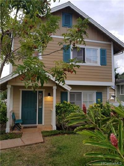 Waianae Single Family Home For Sale: 87-1002 Kahiwelola Street #91