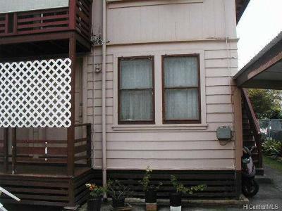 Honolulu County Rental For Rent: 1703 S Beretania Street #E