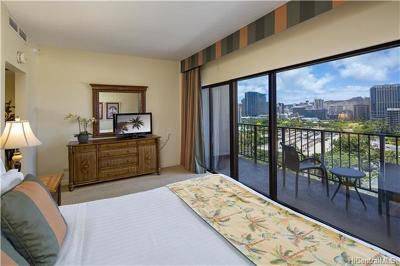 Hawaii County, Honolulu County Condo/Townhouse For Sale: 1850 Ala Moana Boulevard #1201