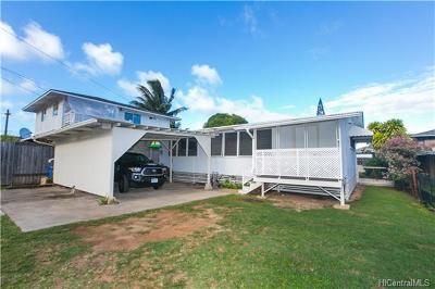 Kailua Single Family Home For Sale: 708 Oneawa Street