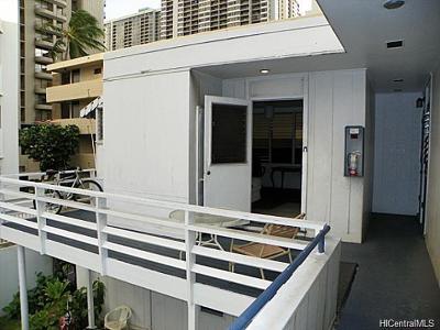 Honolulu County Rental For Rent: 2517 Ala Wai Boulevard