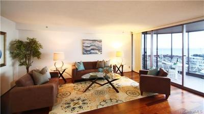 Honolulu County Condo/Townhouse In Escrow Showing: 415 South Street #2302