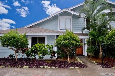 Pearl City Condo/Townhouse In Escrow Showing: 98-1697 Kaahumanu Street #B