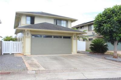 Waipahu Single Family Home In Escrow Showing: 94-1015 Lawakua Loop