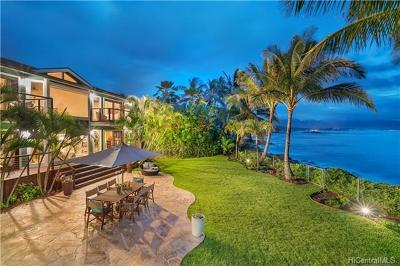 Haleiwa HI Single Family Home For Sale: $4,350,000