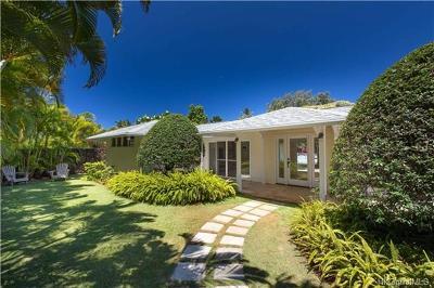 Kailua Single Family Home For Sale: 169 Kuukama Street