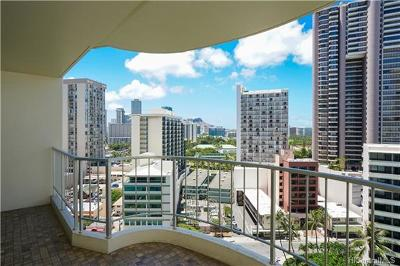 Honolulu Condo/Townhouse For Sale: 469 Ena Road #1603