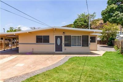 Waipahu Single Family Home For Sale: 94-568 Pilimai Place
