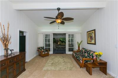 Honolulu Single Family Home In Escrow Showing: 2159c Puanani Lane