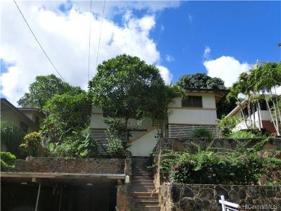 Aiea Single Family Home For Sale: 99-608 Kaulainahee Place