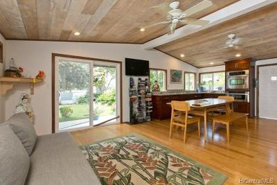 Waimanalo Single Family Home In Escrow Showing: 41-012 Wailea Street