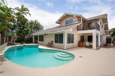 Single Family Home In Escrow Showing: 1052 Kamaole Street