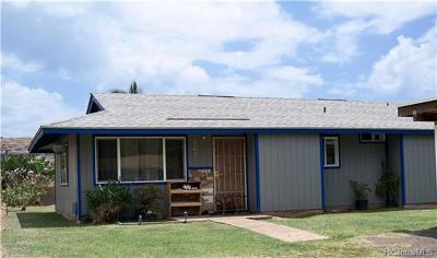 Waianae HI Single Family Home For Sale: $299,900