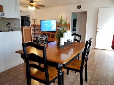 Wahiawa Single Family Home For Sale: 470 Iliwai Drive