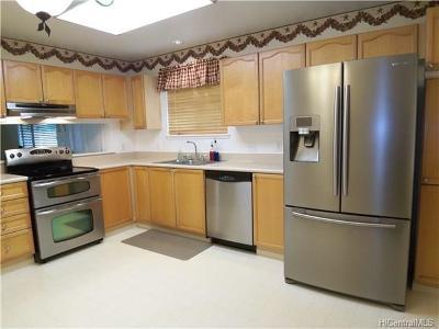 Mililani Single Family Home For Sale: 95-201 Paehia Place