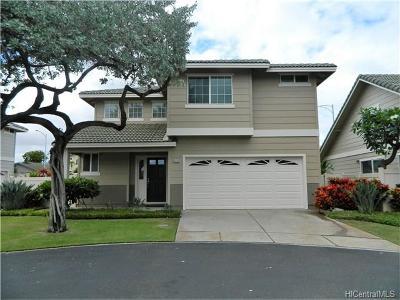 Ewa Beach Single Family Home For Sale: 91-257 Lukini Place #36