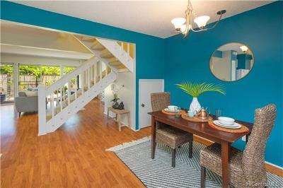 Mililani Condo/Townhouse For Sale: 94-1410 Lanikuhana Avenue #435