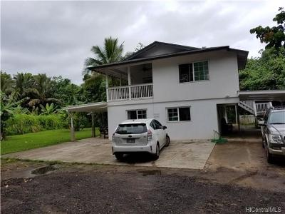 Laie Single Family Home In Escrow Showing: 55-170 Kamehameha Highway