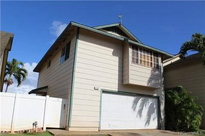 Honolulu County Single Family Home In Escrow Showing: 91-1009 Puwalu Street #27