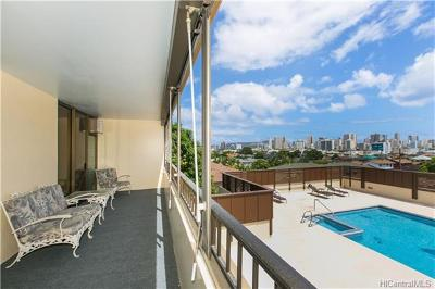 Honolulu Condo/Townhouse In Escrow Showing: 1521 Alexander Street #406