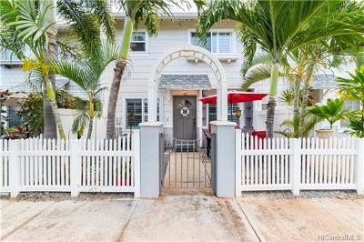 Ewa Beach Condo/Townhouse For Sale: 91-1031 Kaimalie Street #4Q5