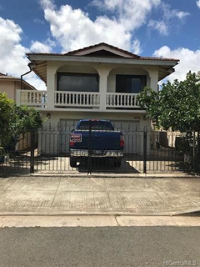 Waipahu Single Family Home For Sale