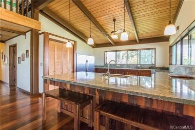 Kailua Single Family Home In Escrow Showing: 73-4425 Holoholo Street
