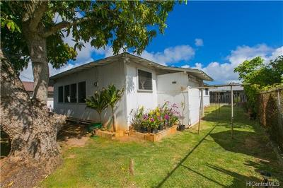 Single Family Home For Sale: 324b Manono Street