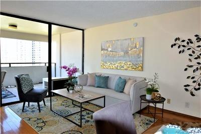 Honolulu Condo/Townhouse In Escrow Showing: 55 S Kukui Street #D1601