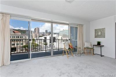 Honolulu Condo/Townhouse For Sale: 818 S King Street #702