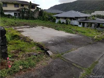 Honolulu County Residential Lots & Land For Sale: 1774 Kuikele Street