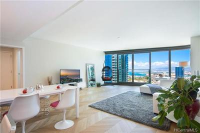 Honolulu County Condo/Townhouse In Escrow Showing: 1108 Auahi Street #2903