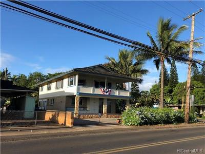 Single Family Home For Sale: 66-059 Haleiwa Loop