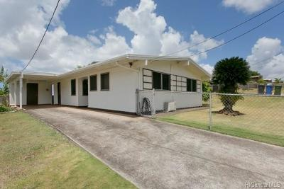 Aiea HI Single Family Home For Sale: $780,000