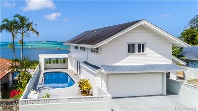 Kaneohe Single Family Home For Sale: 46-287 Ikiiki Street
