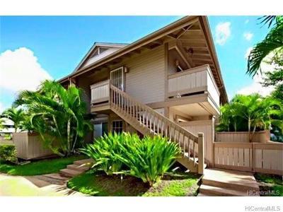 Ewa Beach Rental For Rent: 91-116 Mikohu Street #36S