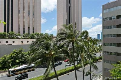 Honolulu Condo/Townhouse For Sale: 1720 Ala Moana Boulevard #A 607