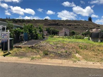 Honolulu County Residential Lots & Land For Sale: 98-422 Ponohale Street