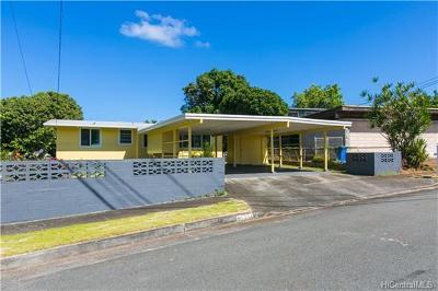 Mililani Single Family Home For Sale: 95-234 Waiala Street