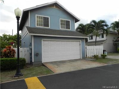 Ewa Beach Single Family Home For Sale: 91-1026 Polohuku Street #89