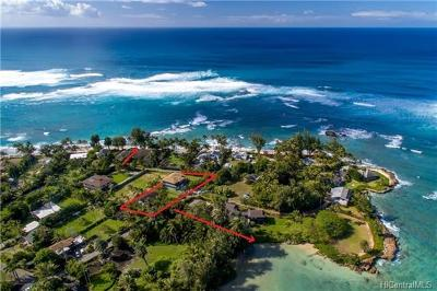Kahuku Single Family Home For Sale: 57-347 Pahipahialua Street